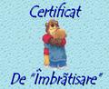 Certificat De Imbratisare