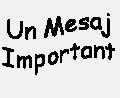 Un mesaj foarte important